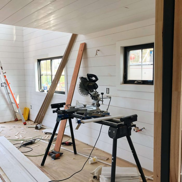 Floathaus Saugatuck Construction Interior 2
